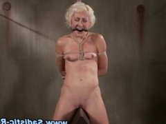 Check nasty bdsm tied up whore