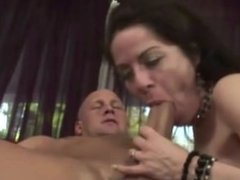 Teen and milf sucking step dad dick in hot high def