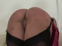 Lady Sonia roughly spanking hot babe ass
