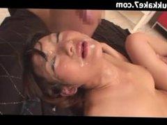 Big Tits Japanese Cum Bukkake