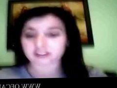 Webcam tits flash stunt shaved-pussy jo
