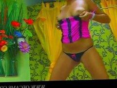 Romanian babe masturbating 4 gushinglez