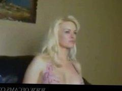 Hot Blonde Fuck Doll anita stuffing vie