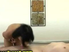Horny asian sex masseuse hardcore fucking real client