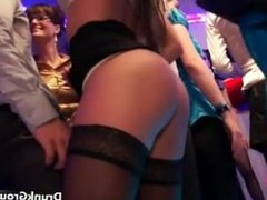 Group of hot party girls fucking in the part6