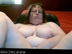 Bbw mom tits and pussy titfucking pumpi