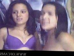 Two Cute Lesbian Teens homevideos buttp