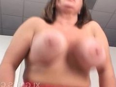 bbw JoyJuggs sucking,tits fucking,riding and cum on tits