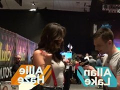 PornhubTV with Allie Haze at eXXXotica 2013