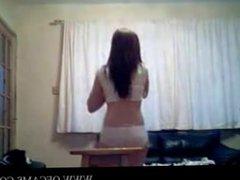 Girls Dancing rosa clapping cockcucking
