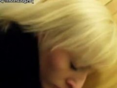 Pretty amateur blonde Czech girl slammed for some cash