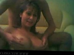 Amateur couple on Webcam pound diva kro