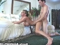 A fat boner is penetrating Tera's pussy during hardcore action on the floor