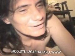 Real interview of a hooker turns hot when she strips to fuck the cameraman