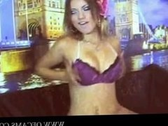 Russian sexy girl show and dance show a