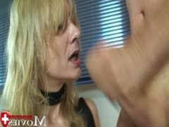 Hot Threesome with Sandy and 2 Cocks