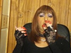 Mandy Redhead Slut Smoke