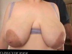 Big boobs, big areolas. garota trample