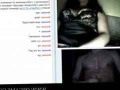 Flashing in videochat assgaping pussyho