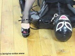 Footfetish extreme eat the dirt of your Mistress feet best feet domination