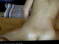 Big Titted Brunette Fucking Sex Toy on W