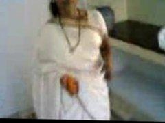 Indian wife in kitchen shavedcunt bitch