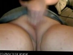 Fatty Single Plays On webcam and Cums h