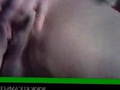 Blowjob for her sperma strapon couple v