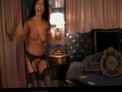 Latina girl dancing salsa naked video m