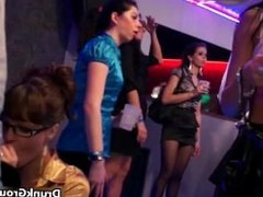 Group of hot party girls fucking in the part4