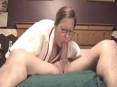 this wife is a skilled cock sucker
