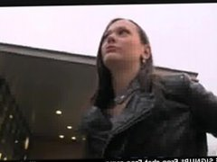 webcam PublicAgent Pretty brunette fucked outside on wasteland Public Nudit