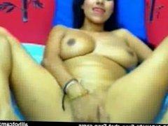 Latina Webcam: Busty Chick Fingers Her Pussy live cam webcam: cam porno xxx