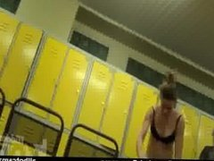 Few girlfriends students come to the pool and strip live cam Voyeur amateu