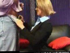 Incredibly sexy MILF Blowjob on Amateur Webcam TV show live cam facials por