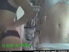 Two young amateur teen girls incaute in front of webcam webcam Amateur live