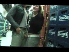 sex in public grocery store