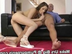 Horny Slut Rammed In Pussy With Big Dick And Fingering