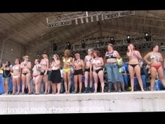 Biker Rally Hot Body Contest in Iowa