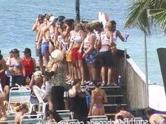 Voyeur Wet T-Shirt Contest from My Key West Condo Balcony