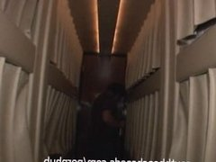 On Tour Bus with Real Rock Band and Girls Getting Crazy and Naked