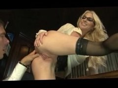 A Secretary with a beauty ass