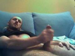 Latino Dick Giving A Pulsating Cumshot