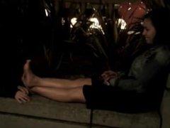 streetgirls feet sniffing