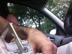 Touch dick in Car