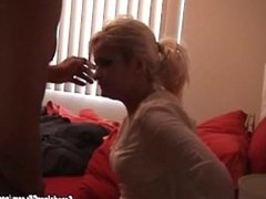 Tutor Get Distracted And Fuck Her Pretty Blonde Student