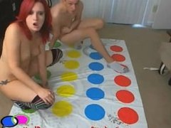 MILF The Teen and Pussy Play Naked Twister