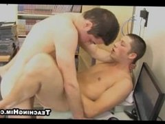 Two first timer hot studs are having some hot anal sex