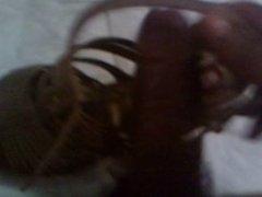 Anal Heels Cream pie