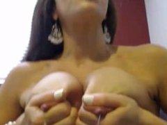 Cam Latina DP + Squirt